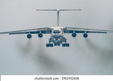 Kaunas Lithuania 2021-01-25 (EW-383TH) Ilyushin Il-76TD - Rubystar