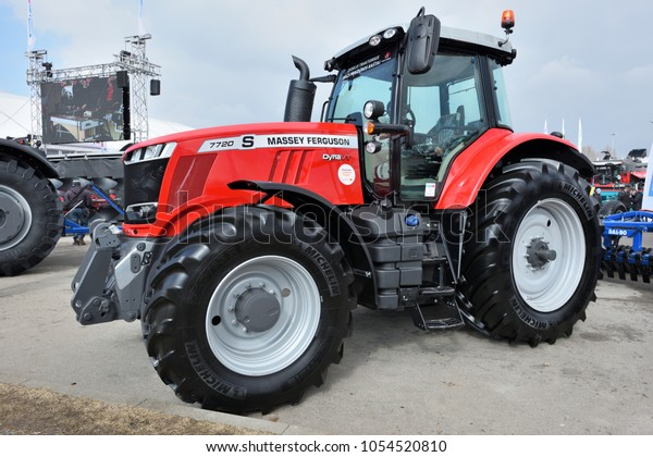 Kaunas Lithuania March 23 Massey Ferguson Stock Photo (Edit
