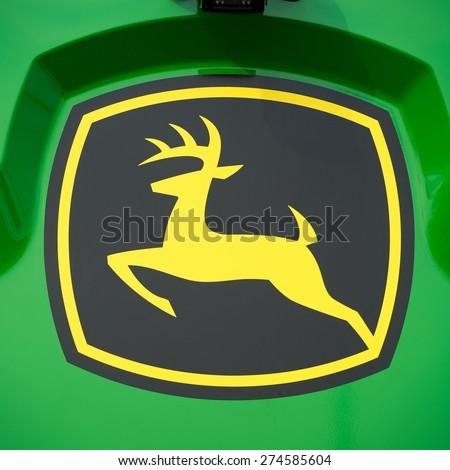 Kaunasmar 26 John Deere Logo On Stock Photo Edit Now 274585604