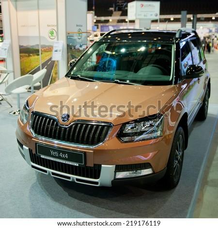KAUNASSEP 19 Skoda Yeti SUV On Stock Photo (Edit Now) 219176119