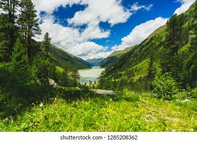 Kaunertal with Reservoir