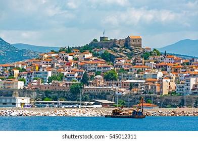 Kavala city in Greece