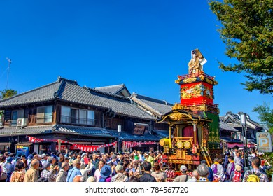 Kawagoe, Saitama, Japan - 2016 October 15 : the Kawagoe Festival is Koedo-Kawagoe as liveliest event of the year