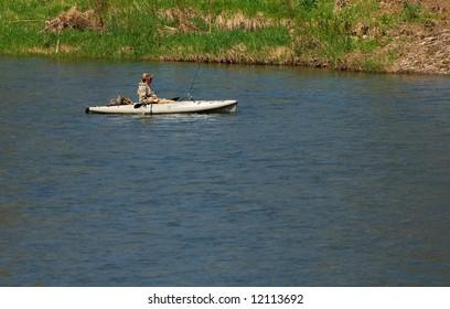 Kayak Float Fishing