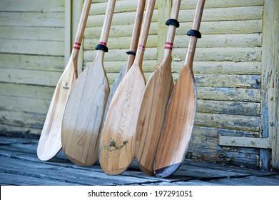 Kayak paddles oars