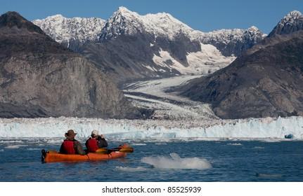 Kayak Trip from Valdez to Columbia Glacier Prince William Sound Alaska