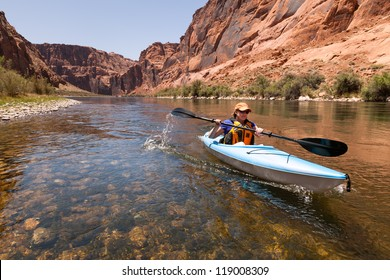 Kayaking the Colorado River (Between Lees Ferry and Glen Canyon Dam)