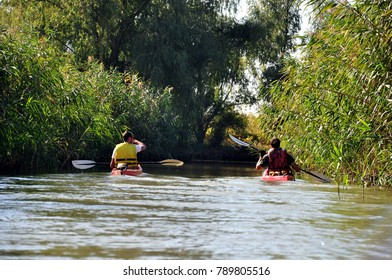 kayaking in Danube Delta