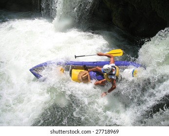 Kayaking the Moho River in Belize