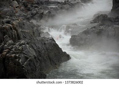 Kayaking on Potomac River in Great Falls National Park