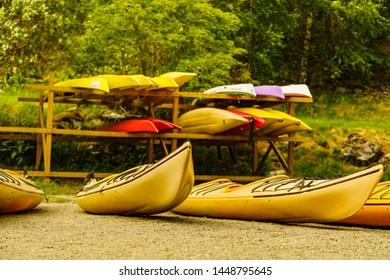 Kayak Rack Images, Stock Photos & Vectors | Shutterstock