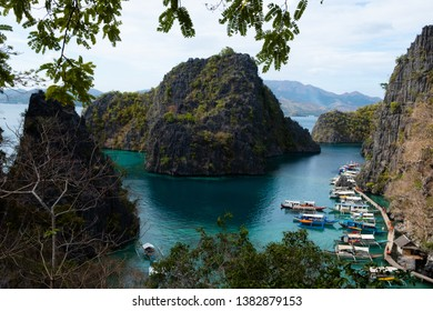 Kayangan Lake Viewpoint in Phillipines Coron Palawan
