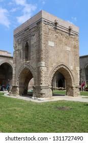Bünyan / Kayseri - April 21, 2016: Sultan Hani Caravanserai belonging to Seljuk period in Bünyan district of Kayseri.