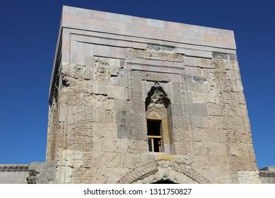 Bünyan / Kayseri - April 22, 2016: Sultan Hani Caravanserai belonging to Seljuk period in Bünyan district of Kayseri.