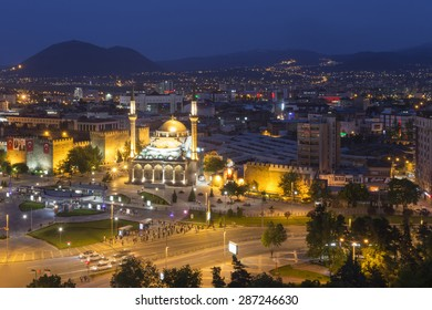 Kayseri, This photo was shot from the city center of Kayseri, Turkey. It located in the center of Turkey.