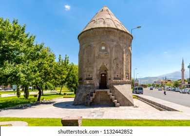Kayseri, Turkey - July 05, 2018 : Doner Tomb view in Kayseri City of Turkey