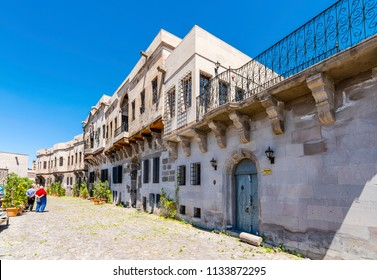 Kayseri, Turkey - July 05, 2018 : Historical Kayseri Houses in Kayseri City of Turkey.