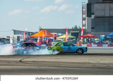 "KAZAKHSTAN, ALMATY - AUGUST 21: ""Gorilla Drift Energy"", Kazakhstan Championship Drift, Stage 3., August 21 2016, Kazakhstan, Almaty"