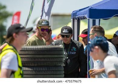 "KAZAKHSTAN, ALMATY - JUNE 26: ""Gorilla Drift Energy"", Kazakhstan Championship Drift, Stage 2., June 26 2016, Kazakhstan, Almaty"