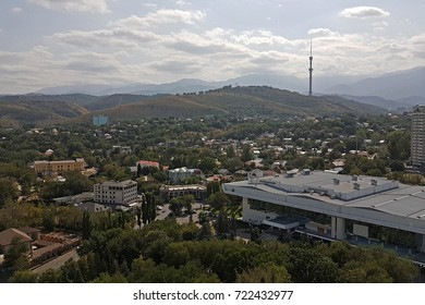Kazakhstan. Almaty. View of the Zailiysky Alatau Range