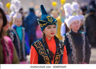 Kazakhstan, March 22, 2017. Feast of Nauryz.