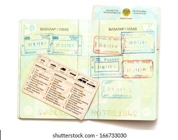 Kazakhstan passport documents