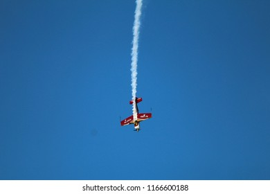 Kazan, Russia - August 26, 2018: Red Bull Air Race