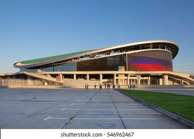 KAZAN, RUSSIA - AUGUST 27, 2016: Sports complex Kazan arena, Kazan, Republic of Tatarstan, Russia