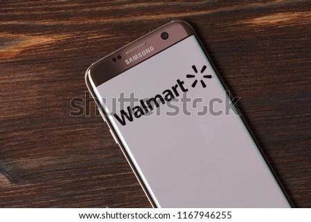 Walmart Stock Phone Number >> Kazan Russian Federation Aug 5 2018 Walmart Stock Photo Edit Now