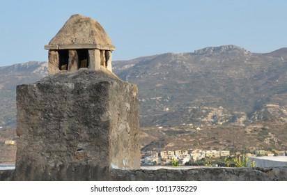 Kazarma Fort at Sitia, Crete, Greece