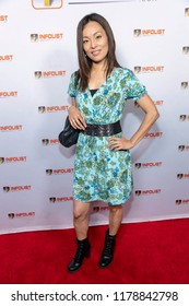 Kazumi Aihara attends INFOLIST PRE-EMMYS SOIREE  at Skybar at the Mondrian Hotel, West Hollywood, California on September 12th, 2018