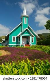 Ke Ola Mau Loa Church, 1931, Kamehameha Pre-school, Waimea, Hawaii