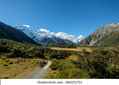 Kea Point Track, Mt Cook, New Zealand