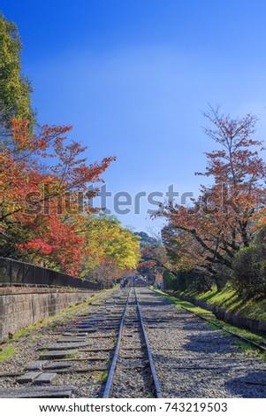 keage incline kyoto japan autumn keage stock photo edit now rh shutterstock com