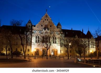Kecskemet city hall, Hungary