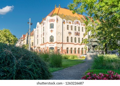 Kecskemet/Hungary - 07.29.2018: Very beautifull town Kecskemét in Hungary during the summer time.