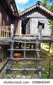Kedah, Malaysia : 28th December 2020 - Exterior view of Malaysia village traditional house.