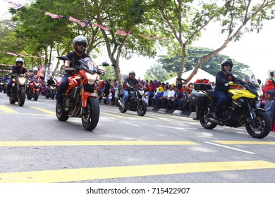 KEDAH, MALAYSIA: 31 August 2017 - The 60th Malaysia Independence Day celebration, on 31 August 2017 in Kulim, Kedah, Malaysia