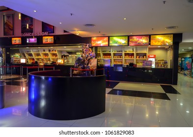 Kedah, Malaysia - July 22, 2017: Grand cineplex is one of the best cinema provider in Sungai Petani
