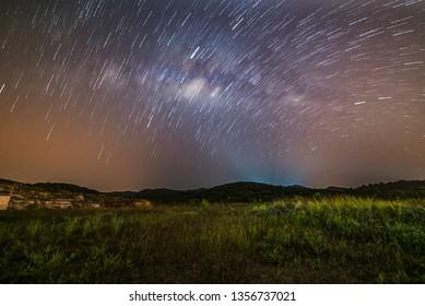 Kedah summer milkyway galaxy stars