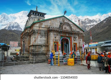 Kedarnath, Uttarakhand, India - May 06, 2012 : Kedarnath Temple is a Hindu temple dedicated to Lord Shiva, which located in the Garhwal Himalayas, India.