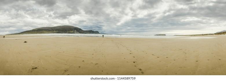 Keel Beach Panorama
