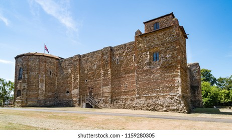 Keep of Colchester Castle in Colchester, Essex, England