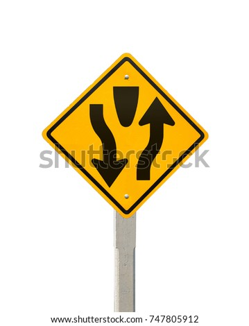 Keep Right Road Symbol Signs Traffic Stock Photo Edit Now