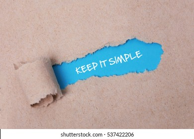 Keep it Simple, Business Concept