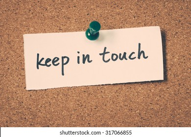 Image result for keep in touch images