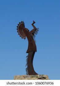 Keeper of the Plains Silhouette Wichita Kansas