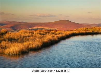 Keepers Pond, Blorenge, Sugar loaf Mountain, Abergavenny, Wales, UK