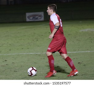 Kees Westra defender for the Seattle University Red Hawks at GCU Stadium in Phoenix,AZ/October 13,2019.
