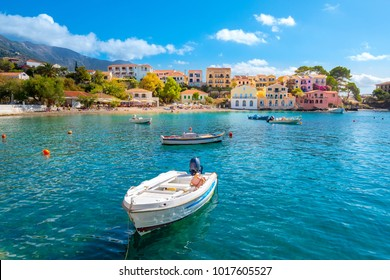 Kefalonia Assos Village in Cephalonia Island, Greece